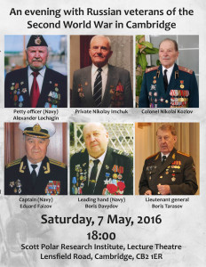 Russian WWII veterans in Cambridge