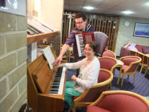 Playing Russian music. Chorley 2012